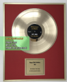 "12"" Gold Discs - (33 1/3 rpm)  - Ideal for a Birthday No.1 Gift"